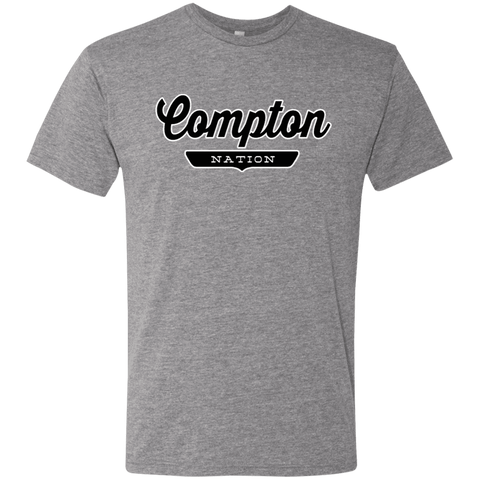 Premium Heather / S Compton Nation T-shirt - The Nation Clothing