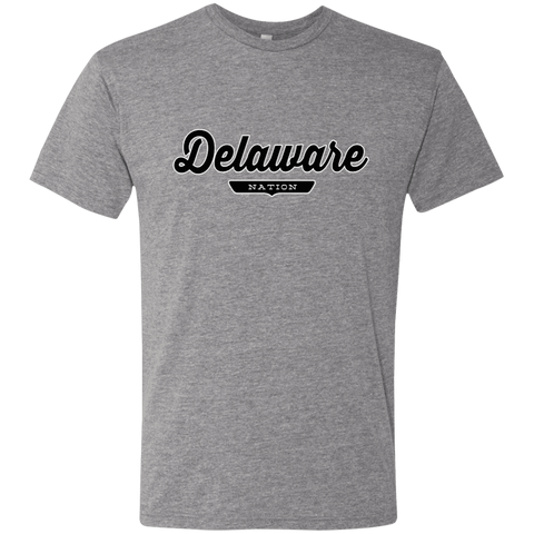 Premium Heather / S Delaware Nation T-shirt - The Nation Clothing