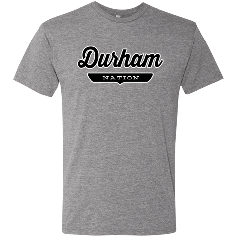 Premium Heather / S Durham Nation T-shirt - The Nation Clothing