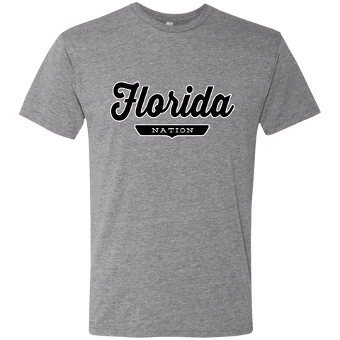 Premium Heather / S Florida Nation T-shirt - The Nation Clothing