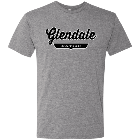 Premium Heather / S Glendale Nation T-shirt - The Nation Clothing