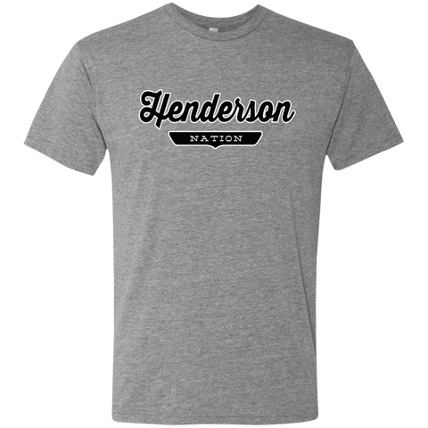 Premium Heather / S Henderson Nation T-shirt - The Nation Clothing