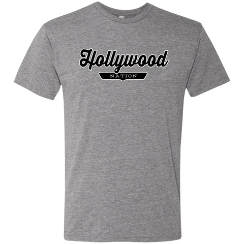 Premium Heather / S Hollywood Nation T-shirt - The Nation Clothing