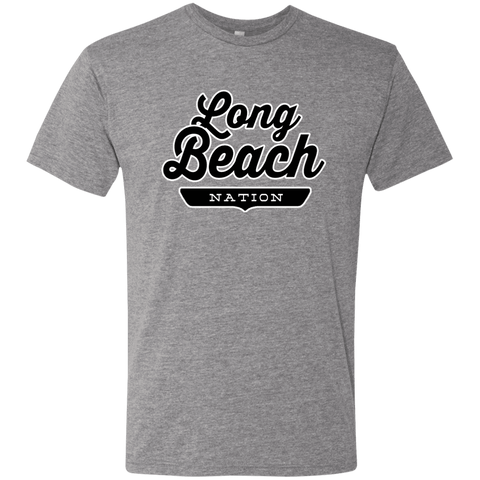 Premium Heather / S Long Beach Nation T-shirt - The Nation Clothing