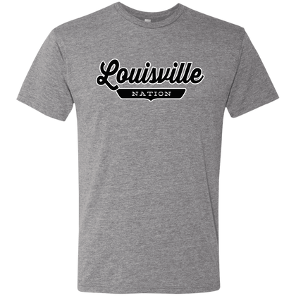 Premium Heather / S Louisville Nation T-shirt - The Nation Clothing