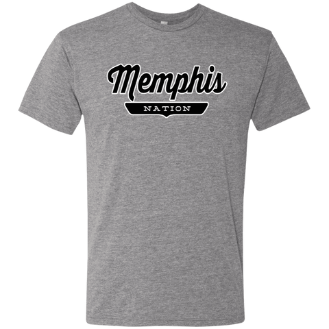 Premium Heather / S Memphis Nation T-shirt - The Nation Clothing