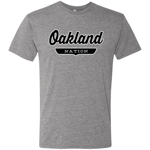 Premium Heather / S Oakland Nation T-shirt - The Nation Clothing