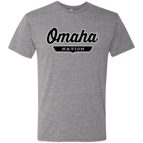 Premium Heather / S Omaha Nation T-shirt - The Nation Clothing