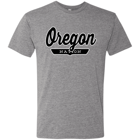 Premium Heather / S Oregon Nation T-shirt - The Nation Clothing