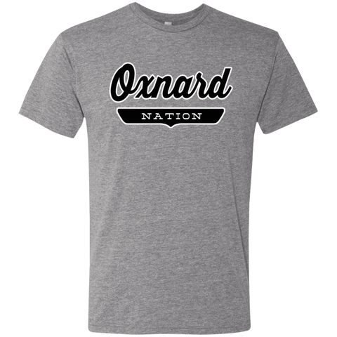 Premium Heather / S Oxnard Nation T-shirt - The Nation Clothing