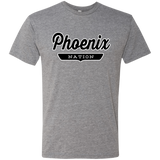 Premium Heather / S Phoenix Nation T-shirt - The Nation Clothing