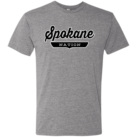 Premium Heather / S Spokane Nation T-shirt - The Nation Clothing