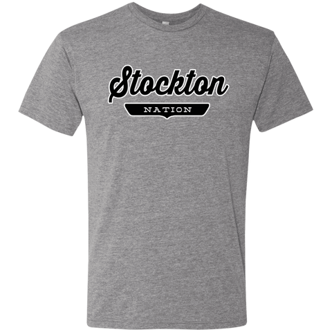 Premium Heather / S Stockton Nation T-shirt - The Nation Clothing