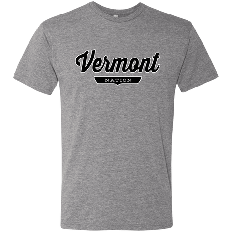 Premium Heather / S Vermont Nation T-shirt - The Nation Clothing