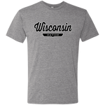 Premium Heather / S Wisconsin Nation T-shirt - The Nation Clothing