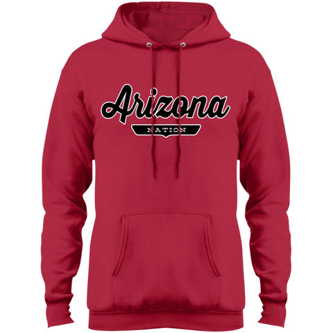 Red / S Arizona Hoodie - The Nation Clothing