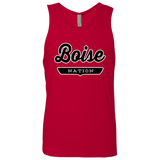 Red / S Boise Nation Tank Top - The Nation Clothing