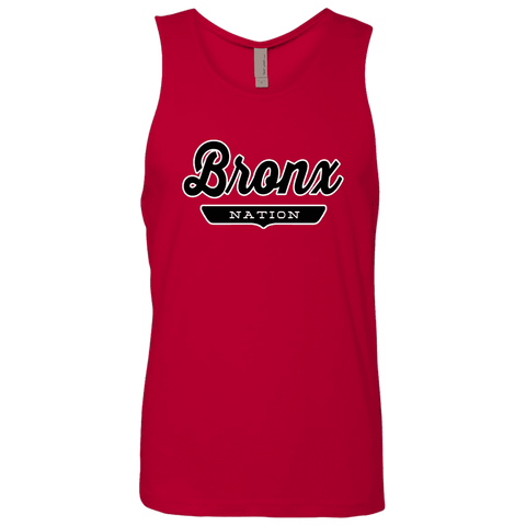 Red / S Bronx Nation Tank Top - The Nation Clothing