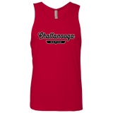 Red / S Chattanooga Nation Tank Top - The Nation Clothing