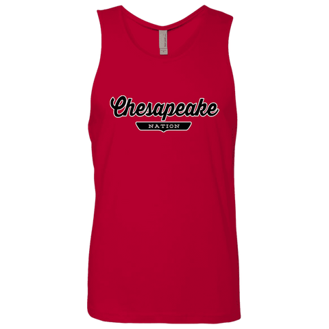 Red / S Chesapeake Nation Tank Top - The Nation Clothing