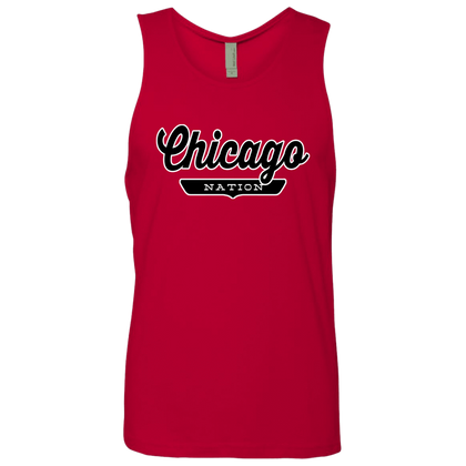 Red / S Chicago Nation Tank Top - The Nation Clothing