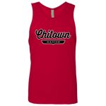 Red / S Chitown Tank Top - The Nation Clothing