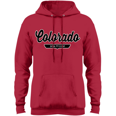 Red / S Colorado Hoodie - The Nation Clothing