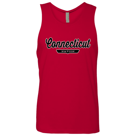 Red / S Connecticut Nation Tank Top - The Nation Clothing