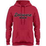 Red / S Delaware Hoodie - The Nation Clothing