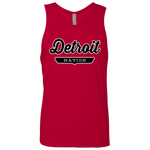 Red / S Detroit Nation Tank Top - The Nation Clothing