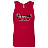 Red / S Fremont Nation Tank Top - The Nation Clothing