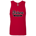 Red / S Frisco Nation Tank Top - The Nation Clothing
