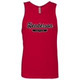 Red / S Henderson Nation Tank Top - The Nation Clothing