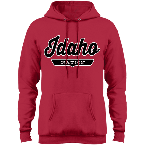 Red / S Idaho Nation Hoodie - The Nation Clothing