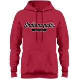 Red / S Indianapolis Hoodie - The Nation Clothing