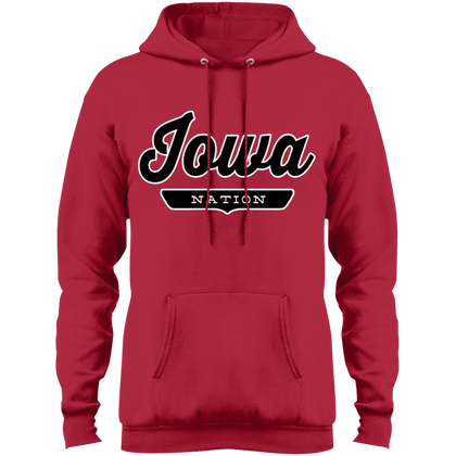 Red / S Iowa Hoodie - The Nation Clothing