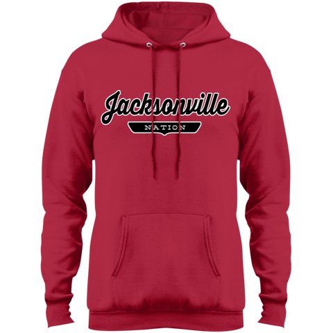 Red / S Jacksonville Nation Hoodie - The Nation Clothing