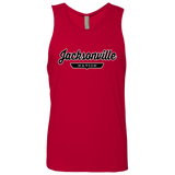Red / S Jacksonville Nation Tank Top - The Nation Clothing