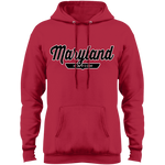 Red / S Maryland Hoodie - The Nation Clothing