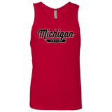 Red / S Michigan Nation Tank Top - The Nation Clothing