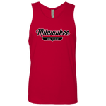 Red / S Milwaukee Nation Tank Top - The Nation Clothing