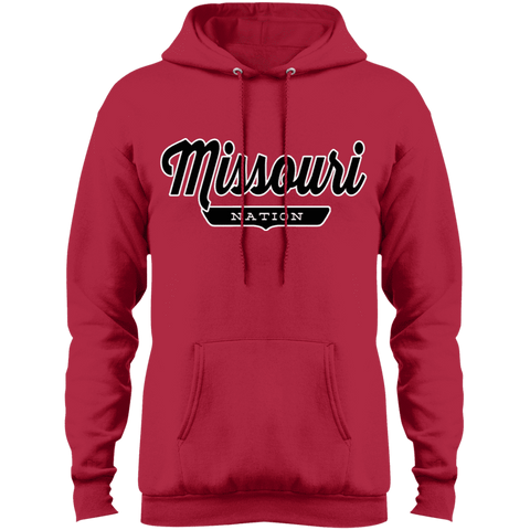 Red / S Missouri Nation Hoodie - The Nation Clothing