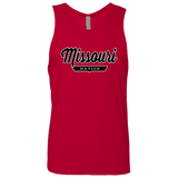 Red / S Missouri Nation Tank Top - The Nation Clothing