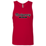 Red / S Montgomery Nation Tank Top - The Nation Clothing