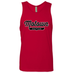 Red / S Motown Tank Top - The Nation Clothing