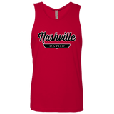 Red / S Nashville Nation Tank Top - The Nation Clothing