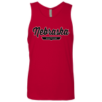 Red / S Nebraska Nation Tank Top - The Nation Clothing