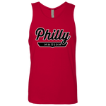 Red / S Philly Tank Top - The Nation Clothing