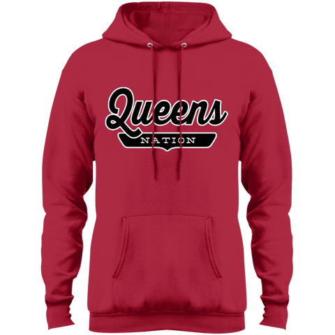 Red / S Queens Hoodie - The Nation Clothing