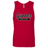 Red / S Queens Nation Tank Top - The Nation Clothing